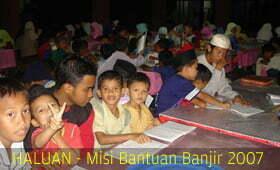 Program Mesra HALUAN Bersama Mangsa Banjir