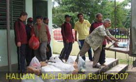Relawan di Johor Terus Bergerak!