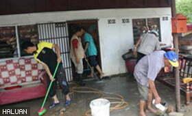 Laporan Misi Bantuan Banjir HALUAN Negeri Perlis