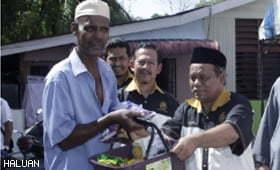 HALUAN Pulau Pinang Educates and Serves in Batu Uban