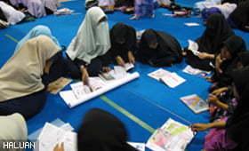 64 pelajar puteri ikuti Kem Pembelajaran Efektif di Bangi