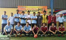 20 Pasukan Sertai Futsal Relawan HALUAN 2011