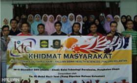 HS2 Tabur Bakti di Kelantan