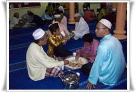 Majlis Berbuka Puasa HALUAN Johor di Parit Salam