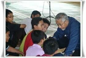 Pelajar-pelajar Bandar Tasik Puteri Ikuti Khemah Ibadah Remaja