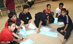 Pelajar Dimotivasi di Kem Pembelajaran Efektif