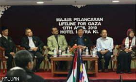NGO-NGO Malaysia Dan Wakil IHH Lancar Projek Lifeline 4 Gaza