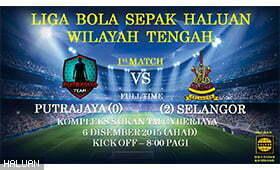 Selangor bertemu Putrajaya di Liga Bola Sepak WT