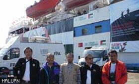 Sukarelawan LL4G Malaysia Tiba di Istanbul Untuk Misi ke Gaza