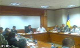 Majlis Perkongsian Pengalaman Sukarelawan ke Gaza dan Mesyuarat Penyelarasan di Wisma Putra