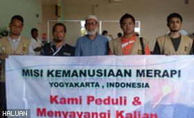 Relawan Misi Kemanusiaan Merapi Selamat Pulang