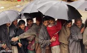 Cabaran cuaca sejuk di Kashmir, Pakistan