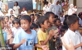 Mangsa gempabumi di Padang masih mengalami trauma