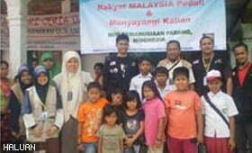 Penduduk Padang Mengalu-alukan Kehadiran Relawan HALUAN