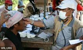 Mangsa gempa di Padang berhadapan dengan berbagai penyakit