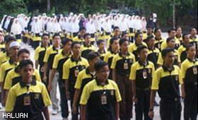 PEWARIS 5 Menyemarakkan Remaja Untuk Mendidik dan Berbakti
