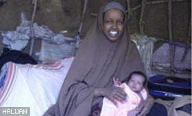 HALUAN Dots Newborn and Mother
