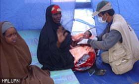 HALUAN Santuni Ibu dan Bayi Baru Lahir
