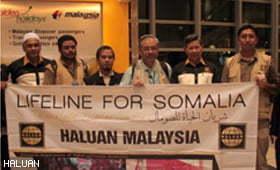 Pasukan Pertama Misi Talian Hayat Pelarian Somalia Selamat Pulang