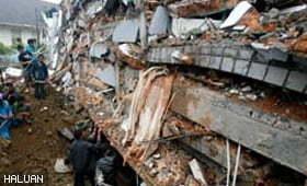 HALUAN susun bantuan ke Sumatera