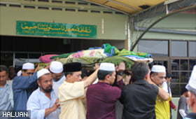 Deepest Condolences: Ustaz Dahlan Mohd Zain