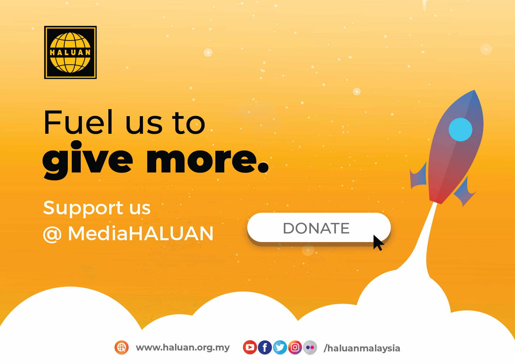 Support Us @mediaHALUAN
