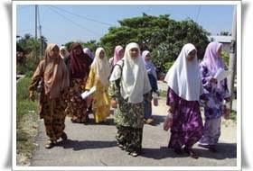 HALUAN Kelantan Santuni Masyarakat Kampung Pohon Nenasi, Bachok