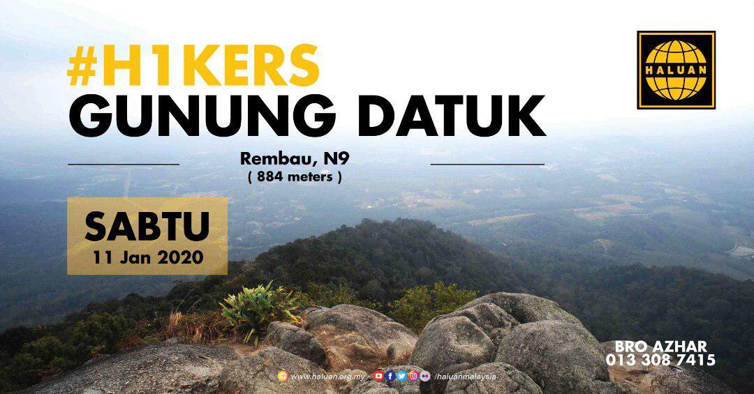 Pendakian Gunung Datuk, Negeri Sembilan