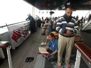 Al Quran dan Solat Memberi kekuatan Kepada Kami: Aktivis Konvoi Armada