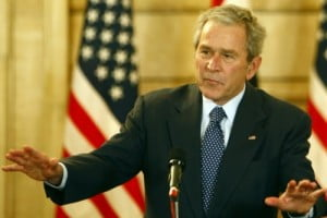 Konspirasi George W Bush & Ehud Olmert?