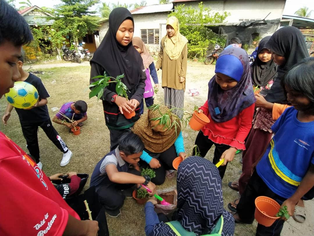 Riang Ria Cuti Sekolah, Anak-Anak Kuala Bekah
