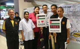 Warga Seberang Jaya Turut Prihatin Terhadap Kesengsaraan Rakyat Gaza