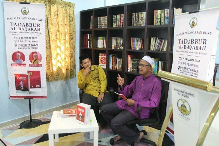 Pelancaran Buku Tadabbur Al-Baqarah Dekatkan Masyarakat Dengan Quran