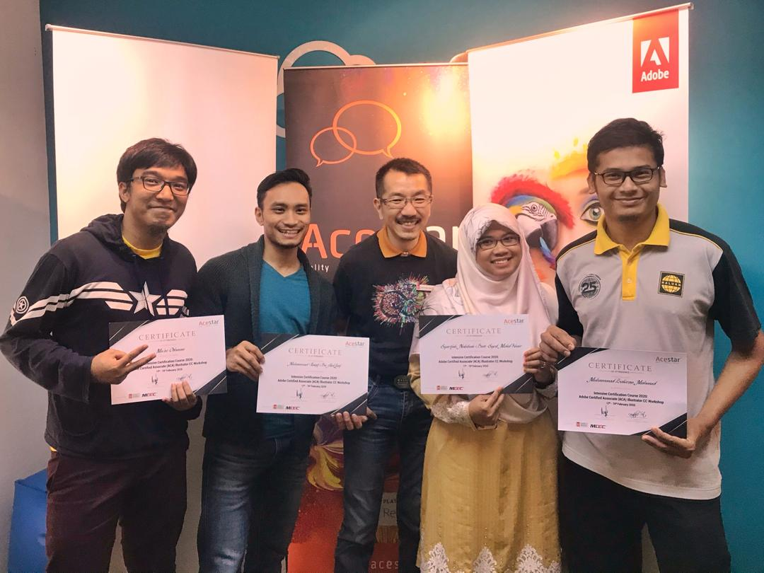 HALUAN Volunteers Attain Global Certification
