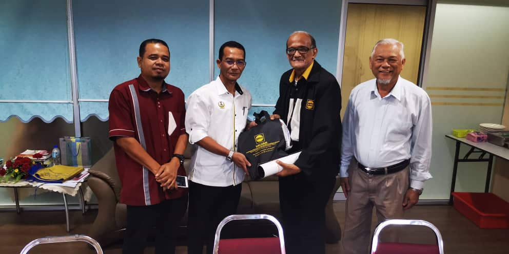 HALUAN Kunjung Hormat ke Jabatan Agama Islam Perak