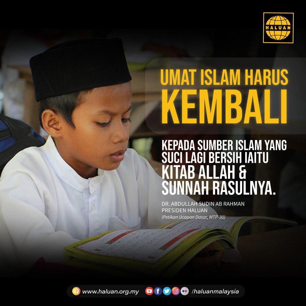 Umat Islam Harus Kembali