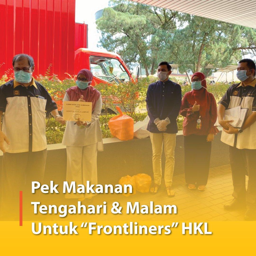 """Pek Makanan Tengahari & Malam Untuk """"Frontliners"""" HKL"""