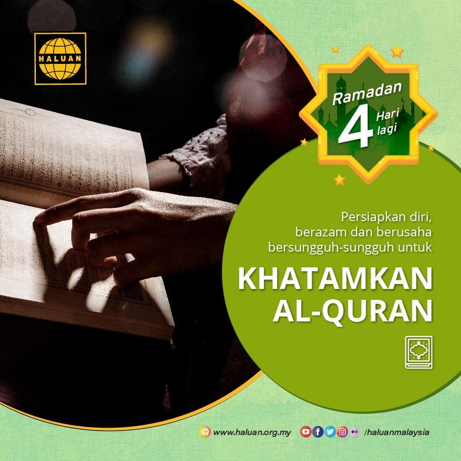 Apa persediaan kita untuk menghadapi Ramadan??