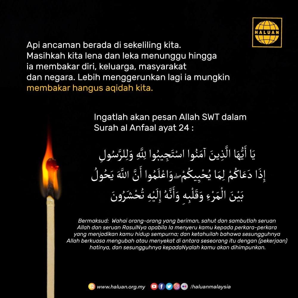 Api Ancaman Berada Di Sekeliling kita