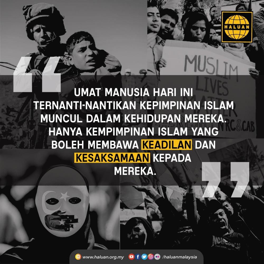 Ummah Tagih Kepimpinan Islam
