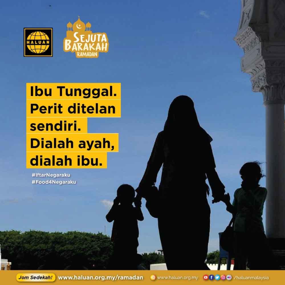 Bantuan Kasih Ramadan kepada Ibu Tunggal🌹