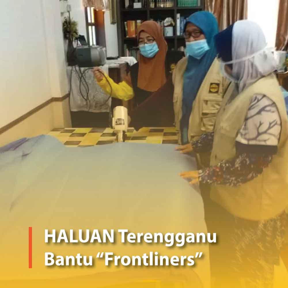 """HALUAN Terengganu Bantu """"Frontliners"""""""
