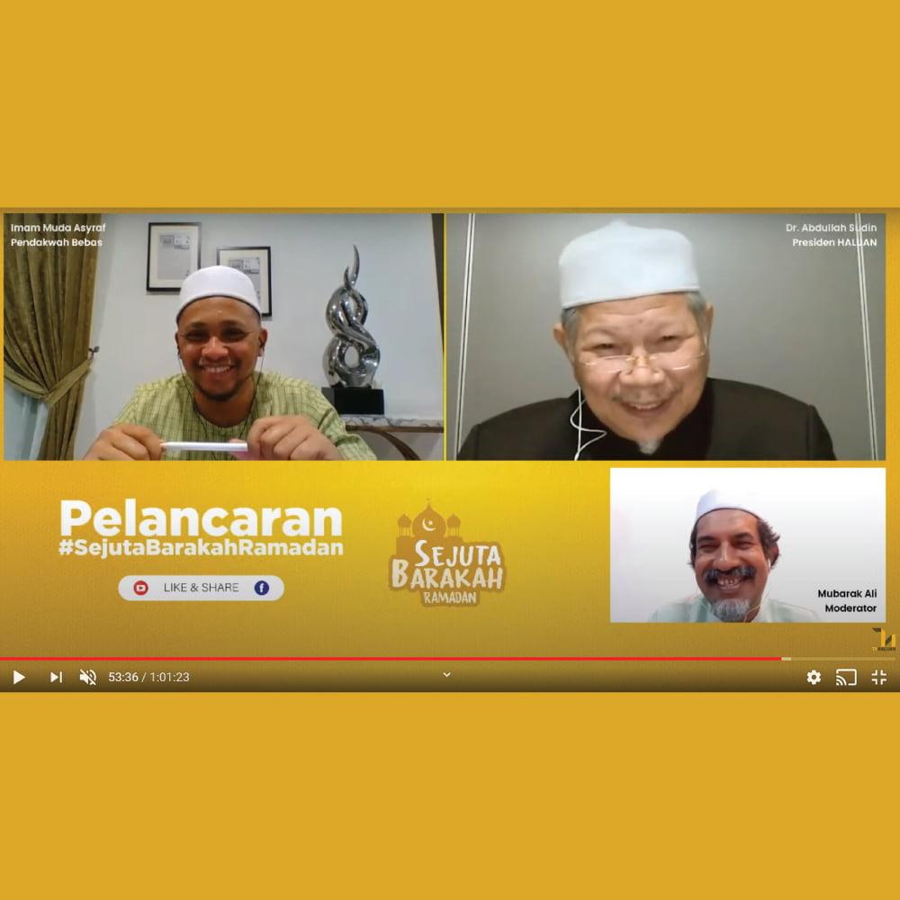 HALUAN Lancar Kempen Sejuta Barakah Ramadan
