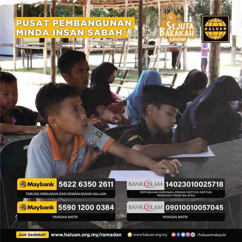 PPMI – Tajaan Program Pendidikan Alternatif Etnik Minoriti Sabah