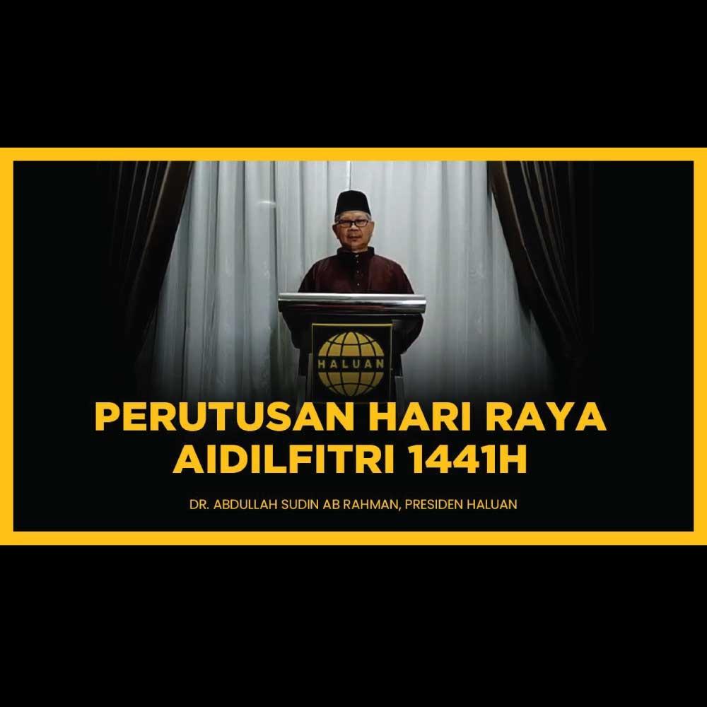 Perutusan Aidilfitri Presiden HALUAN 1441H