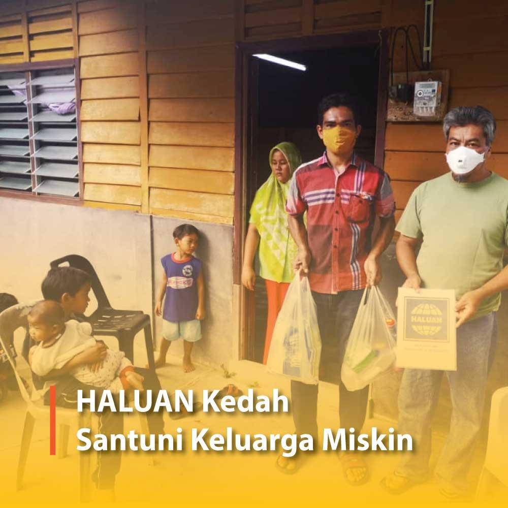 HALUAN Kedah Santuni Keluarga Miskin