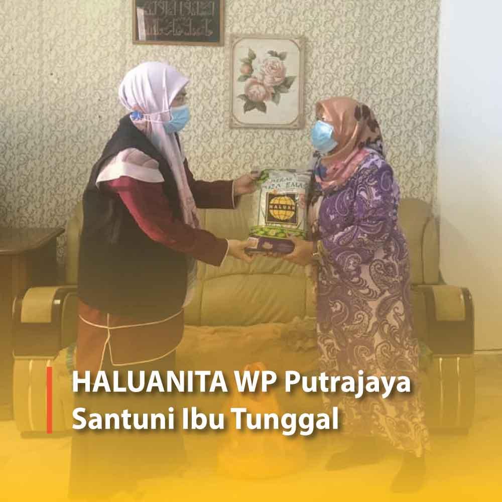 HALUANITA WP Putrajaya Santuni Ibu Tunggal