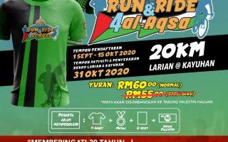 VIRTUAL RUN & RIDE FOR AL-AQSA