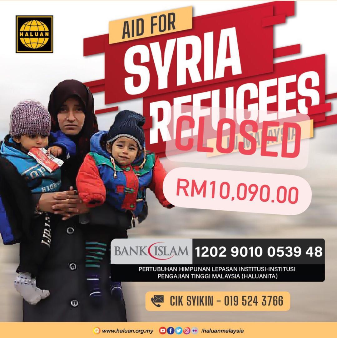 Terima Kasih Malaysia!