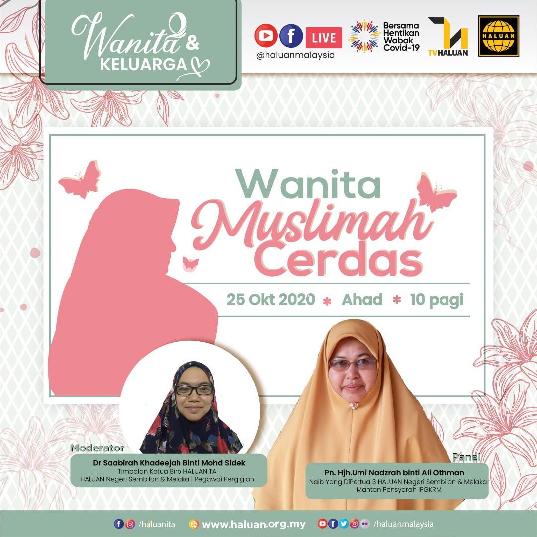 WANITA & KELUARGA | Wanita Muslimah Cerdas